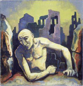 Mann in Ruinen 37